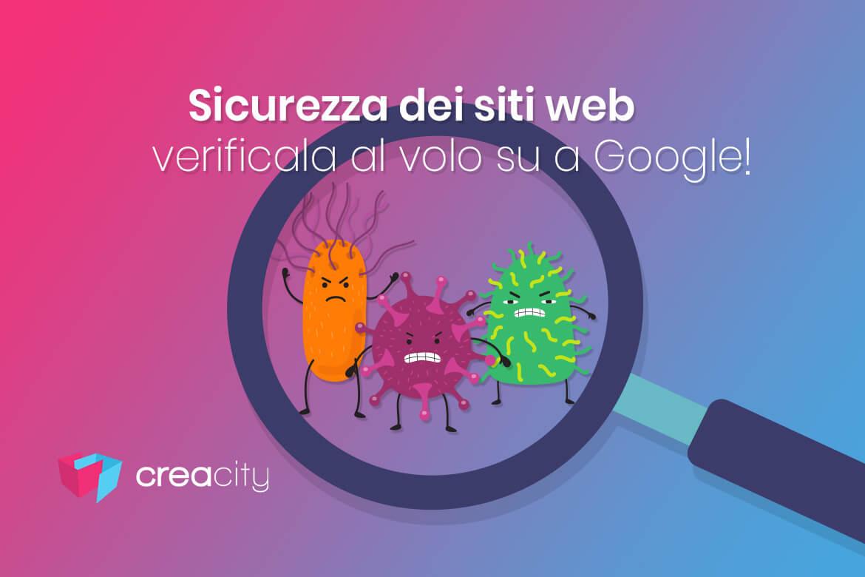 sicurezza siti web controllo suGoogle
